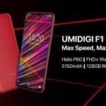 Umidigi F1 avec 4Go et 128 Go en prévente
