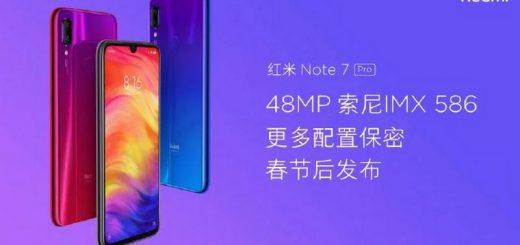 Xiaomi Redmi note 7 Pro à la une