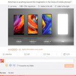 Xiaomi Mi MIX 4 serait-il un smartphone pliable ?